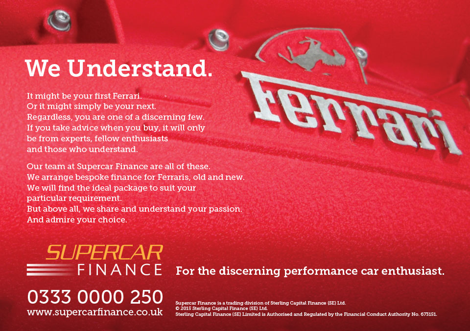 Supercar Finance advertising design