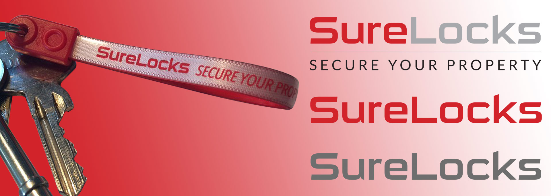 Sure Locks brand and website design