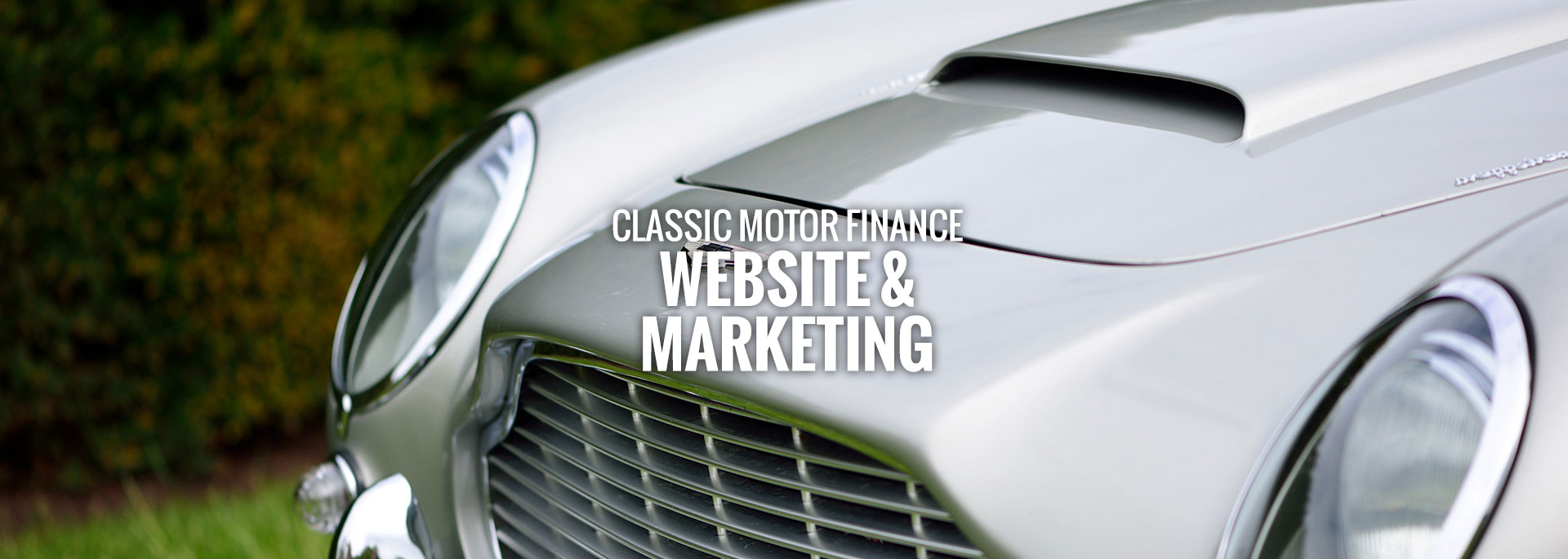 classic motor finance website marketing