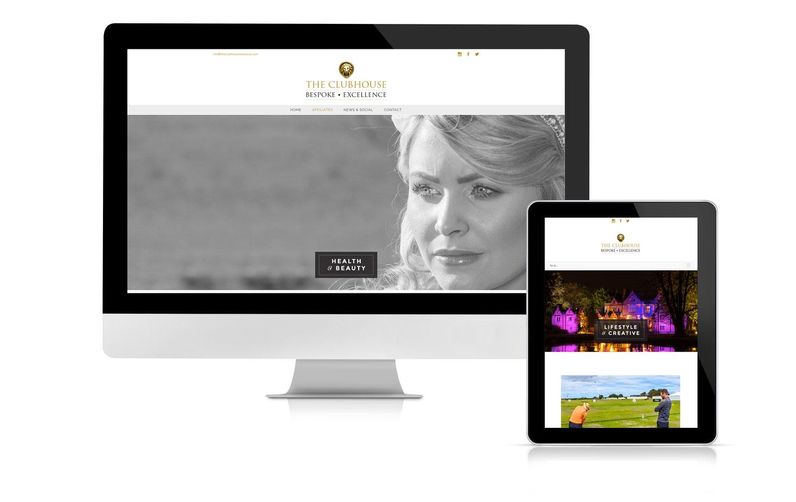 Clubhouse Alderley marketing website brand