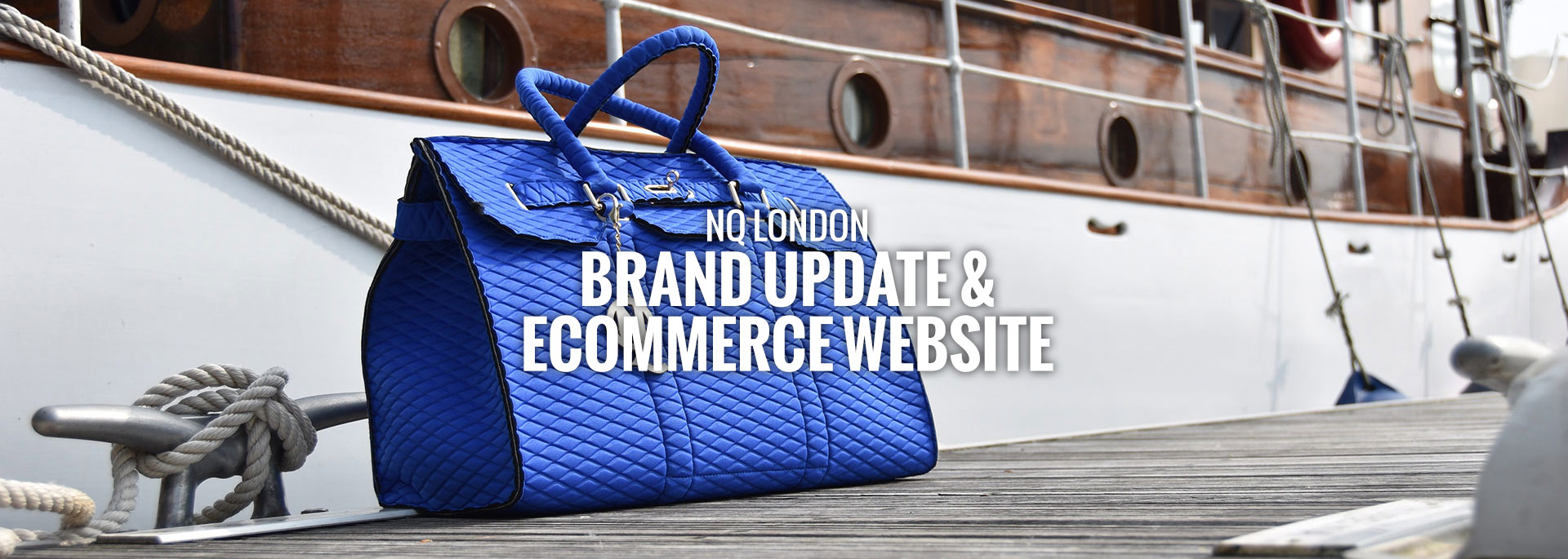 NQ London website design
