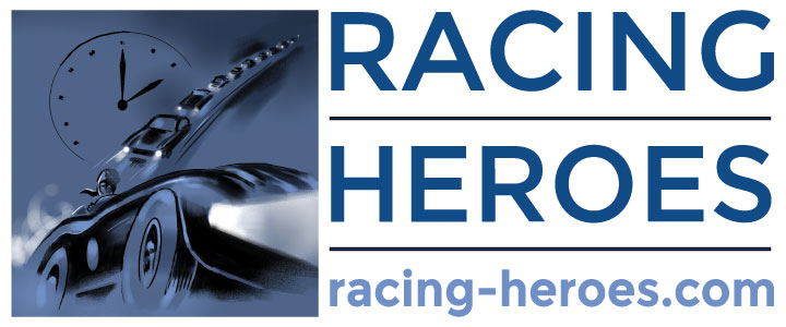 Racing Heroes website design